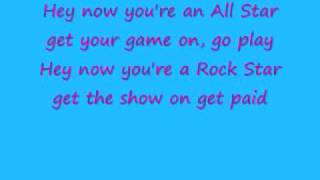 All Star with lyrics