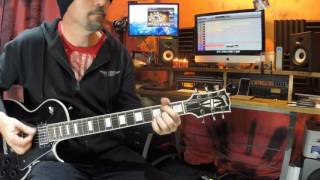 Highway to Hell Cover Play along video AX8 sounds