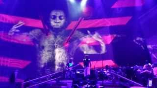 Lil' Wayne - No Worries live @ America's Most Wanted Fest @ Sleep Train Pavilion,Concord.[HD]