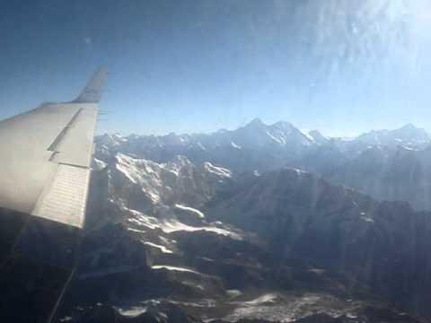 Everest flight in Nepal