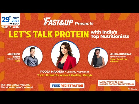 LETS TALK PROTEIN : With India's Top Nutritionists - Full Event