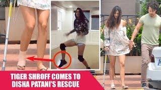 Disha Patani HURTS Her FOOT During a Dance Rehearsal