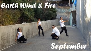 Earth Wind and Fire -September dance choreo