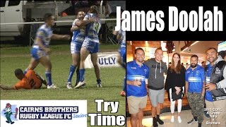 2015 James Doolah Try ~ Cairns Brothers v Tully Tigers 8.8.15