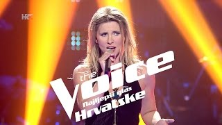 "Ana Androić Knežević: ""Bridge Over Troubled Water"" - The Voice of Croatia - Season2 - Knockout 2"
