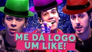 Me Dá Logo um Like! | Cocielo, MrPoladoful e Castanhari | Paródia That's What I Like | Bruno Mars