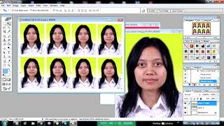 how to make passport size photo in one click