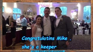 Mike's best catch   -  Congratulations