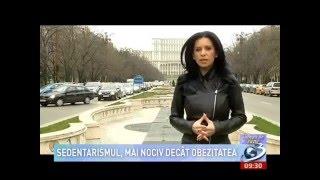 Psihanalist Alina Iliescu - psihicul si sedentarismul - Antena 3