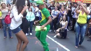 BRAZILIAN WOMENS DANCE STREET SAMBA PUNTA DANCES AT BRAZIL DAY NEW YORK 2016 NYC