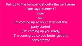 pink get this party started lyrics