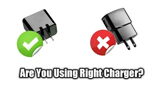 Are your using a right charger for your phone