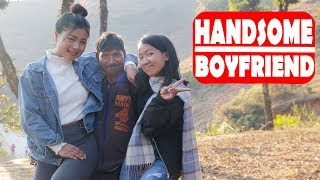 My Handsome BoyFriend |Modern Love|Nepali Comedy Short Film |SNS Entertainment