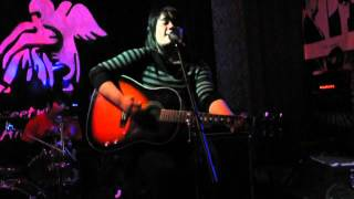 Raquel K. Ogren with Fox Fisher_'It's Okay to Be Plain'_Vinnie's Open Mic_March 26, 2012