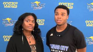 Interview with UMKC Guard Martez Harrison