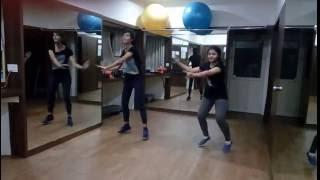 lets move  aerobics steps