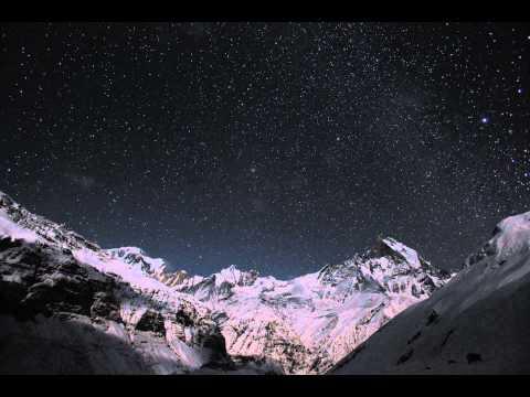 Mt. Machhapuchhre (Fish Tail) Star TimeLaspe  @ABC -15fps