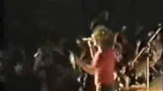 AC/DC Back in Black live Tokyo 1981
