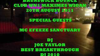 BRUNSWICK BOUNCE CLUB WN1 MAXIMES WIGAN 20TH AUGUST 2011