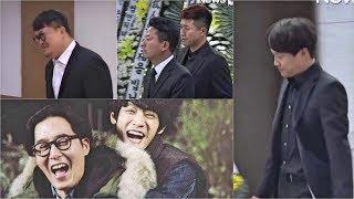 """""""2 Days 1 Night"""" Members at Kim Joo Hyuk Mortuary While Jung Joon Young still Unaware Of this news"""