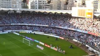 Rianxeira en Balaidos. Ascenso del Celta de Vigo 2012