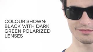 c8b837b405 Ray-Ban RB4228 Light Ray Polarized 601 9A Sunglasses Black ...