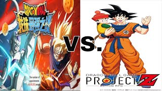 dragon ball z strongest warrior game download