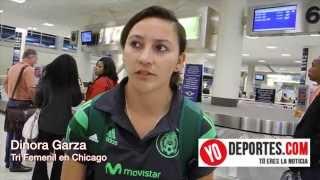 Dinora Garza dice aprendieron a respetar el rival