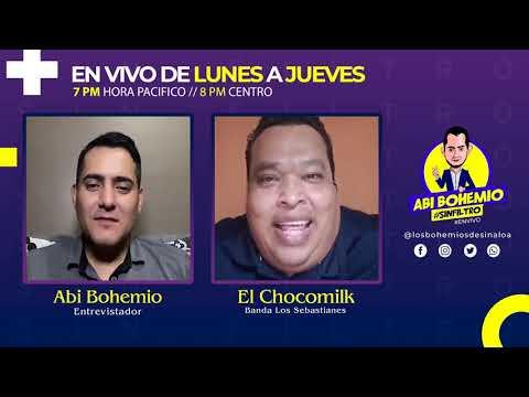 El Chocomilk | BANDA LOS SEBASTIÁNES | #SINFILTRO 🔥 HABLA SOBRE EL MAL ENTENDIDO CON PEPE GARZA! 👀