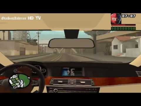 Gta San Andreas-Araba İçten Sürme Modu-BMW-Porsche-Şahin