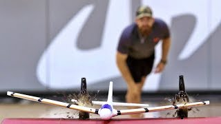 Airplane Trick Shots | Dude Perfect width=