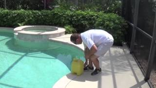 Add Liquid Chlorine (Shock) To Your Pool | By Waterdrop Pools of Naples Florida