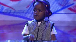 Kid play Tripaloski on South Africa Got Talent