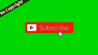 Subscribe & Bell Button Green Screen (No Copyright) || Awesome Animation Videos !! Technical EmoN ||