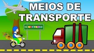 Meios de Transporte - Veículos - Vídeo Educativo