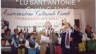 """ LU SANT'ANDONIE "" - ""Corale Giuseppe Verdi."" di Teramo  diretta dal M° ENNIO VETUSCHI"