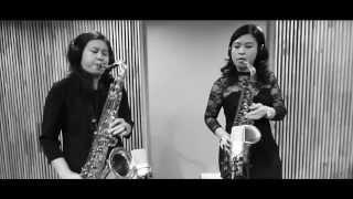 ฉันก็รักของฉัน (Saxophone Cover) by Kwang Saxophone feat. Pang Saxgirl