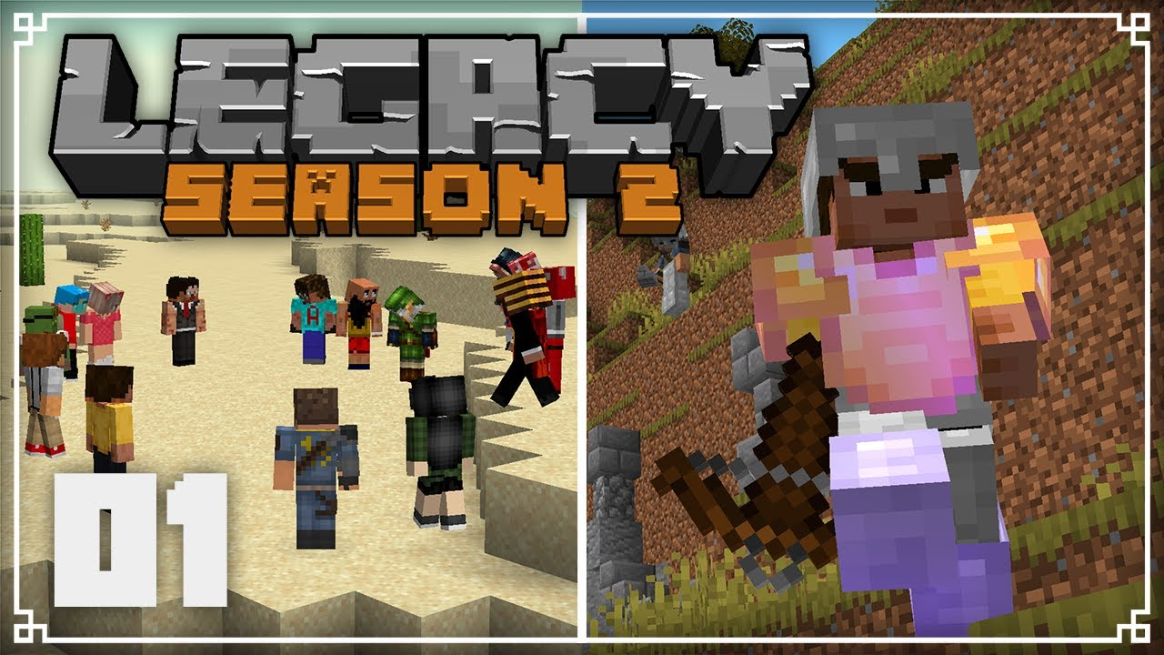 JermsyBoy - Legacy SMP 2 | A Brand New World! |  Minecraft 1.16 Survival Multiplayer