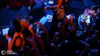 """SOULFLY and KING PARROT  """"Ace of spades"""" motörhead tribute - Toulouse - european tour 2016"""
