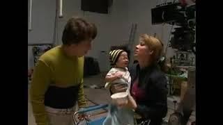 Jackie Chan on set of Rob B-Hood Movie width=