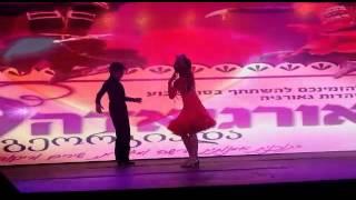 נויה ומוראל בריקוד סולו  בגיארגיאדה אילת