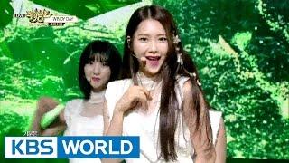OH MY GIRL (오마이걸) - WINDY DAY [Music Bank / 2016.06.24]