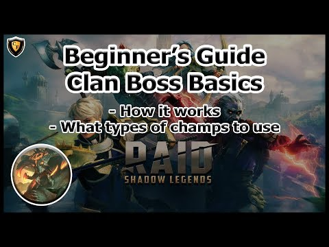 RAID: SL - Clan Boss Beginner's Guide