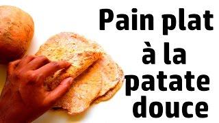 Pain plat à la patate douce | VEGAN | HCLF | STARCH SOLUTION |