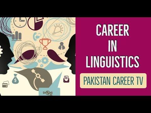 Career in Linguistics