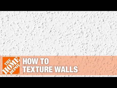 A video detailing several ways to texture walls.