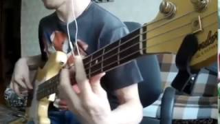 2Pac-Lil homie's  (Bass cover)
