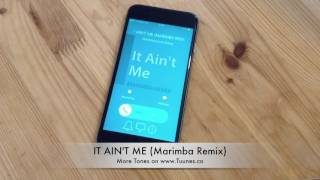 It Ain't Me Ringtone (Kygo & Selena Gomez Tribute Marimba Remix Ringtone) • For iPhone & Android
