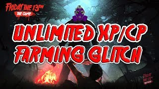 FRIDAY THE 13th: THE GAME - UNLIMITED XP & CP Farming Boosting Method