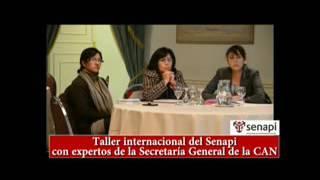 Taller Internacional CAN #Senapi #ProtegeTuCreación